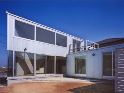 N HOUSE庭側外観02-画質調整-400×300
